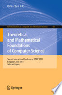 Theoretical and Mathematical Foundations of Computer Science