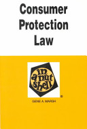 Consumer Protection Law in a Nutshell