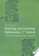 Teaching And Learning Mathematics