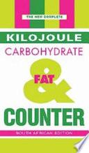 New Complete Kilojoule  Carbo   Fat Counter