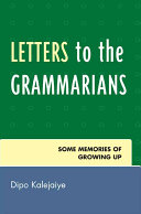 Book Letters to the Grammarians