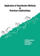 Application Of Quantitative Methods In Veterinary Epidemiology