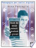 Boom dei social network  facebook e i giovani
