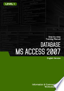 MICROSOFT OFFICE ACCESS 2007 LEVEL 1