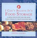 I Can t Believe It s Food Storage