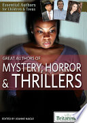 Great Authors of Mystery  Horror   Thrillers