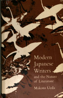 Modern Japanese Writers and the Nature of Literature