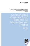 Communicating Corporate Social Responsibility
