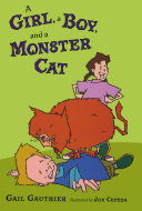 A Girl A Boy And A Monster Cat
