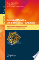 Conceptual Modelling and Its Theoretical Foundations