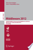Middleware 2012