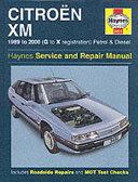 Citroen Xm Service And Repair Manual