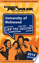 University of Richmond 2012