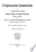 L esplorazione commerciale e l esploratore viaggi e geografia commerciale