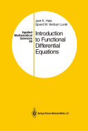 Introduction to Functional Differential Equations