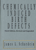 Chemically Induced Birth Defects, Third Edition