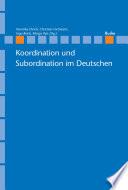 Koordination und Subordination im Deutschen
