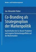 Co-Branding als Strategieoption der Markenpolitik