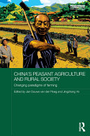 China's Peasant Agriculture and Rural Society