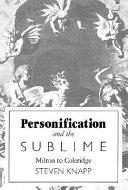 Personification And The Sublime