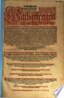 Neuwe Chorographia und Histori Teutscher Nation. Das ist: warhaffte eigentliche und kursze Beschreibung, der alten hochlöblichen Teutschen, vnserer Vranherzen erster ankunfft, herkom[m]en auffnemen und vermehrung, dero Namens vrsprung [...] ...