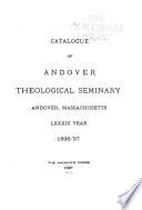 Catalogue of Andover Theological Seminary
