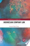 Indonesian Company Law