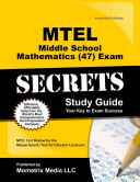 Mtel Middle School Mathematics  47  Exam Secrets Study Guide