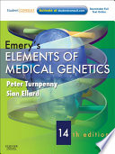 Emery S Elements Of Medical Genetics E Book