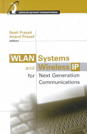 WLAN Systems and Wireless IP for Next Generation Communications