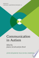 Communication in Autism
