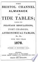 The Bristol Channel Almanack and Tide Tables Book PDF
