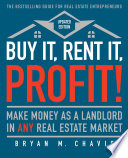 Buy It  Rent It  Profit   Updated Edition