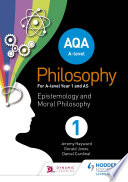AQA A level Philosophy Year 1 and AS