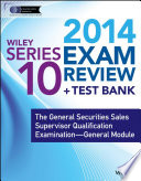Wiley Series 10 Exam Review 2014 + Test Bank