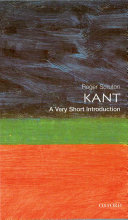 Kant: A Very Short Introduction Book