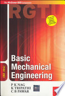 Basic Mechanical Engineering (Be 204)