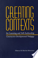 Creating Contexts For Learning And Self Authorship