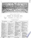 Engineering Building Record And The Sanitary Engineer