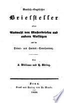 The Englisch-German Letter-Writer