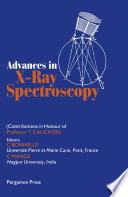 Advances in X Ray Spectroscopy