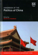 Handbook on the Politics of China