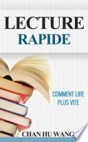 Lecture Rapide  Comment lire plus vite