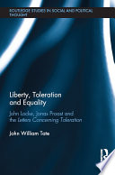 Liberty  Toleration and Equality