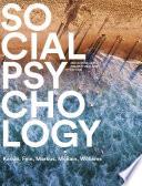 Social Psychology Australian New Zealand Edition
