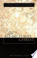 The All Inclusive Christ