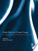 Global Ethics on Climate Change