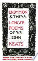 Endymion   the Longer Poems