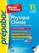 Physique Chimie Tle S enseignement sp  cifique   Pr  pabac R  ussir l examen