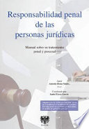 Responsabilidad penal de las personas jur  dicas
